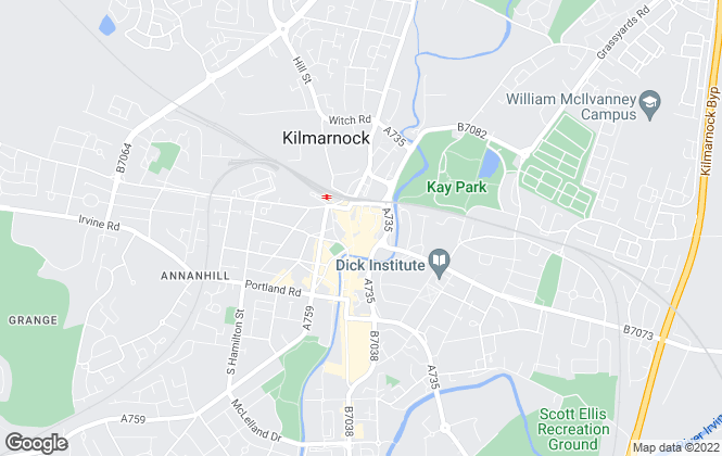 Map for Mackintosh And Wylie LLP, Kilmarnock