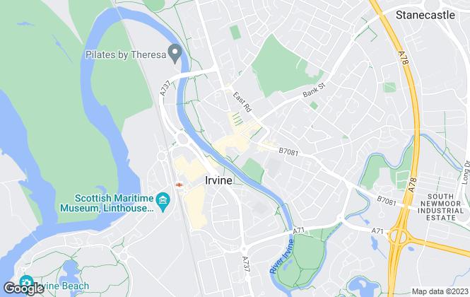 Map for Trinity Properties, Irvine
