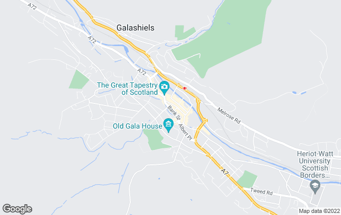 Map for CKD Galbraith, Galashiels - Lettings
