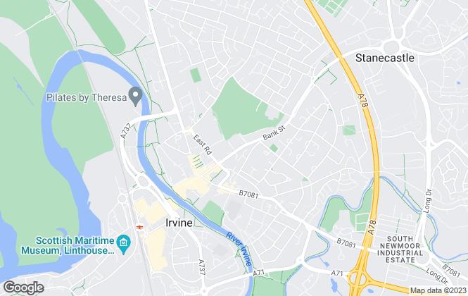 Map for Allen & Harris, Irvine