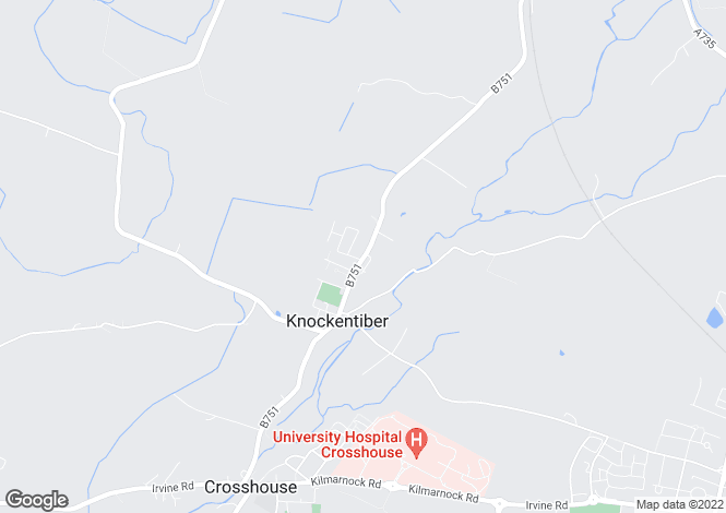 Map for Kilmaurs Road,