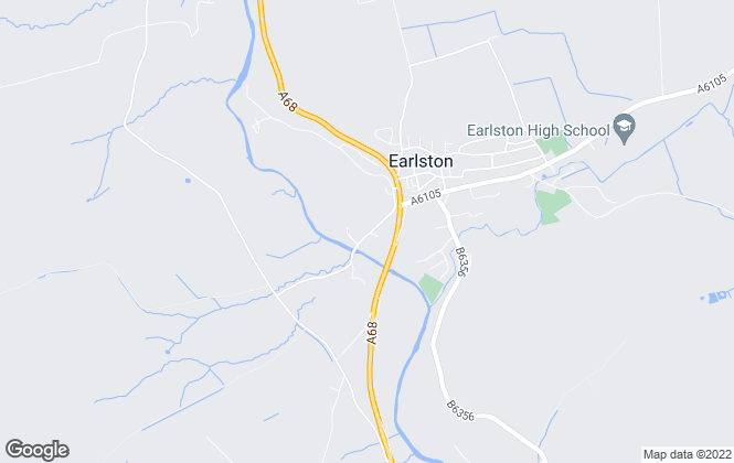 Map for Bell Rural Solutions, Earlston