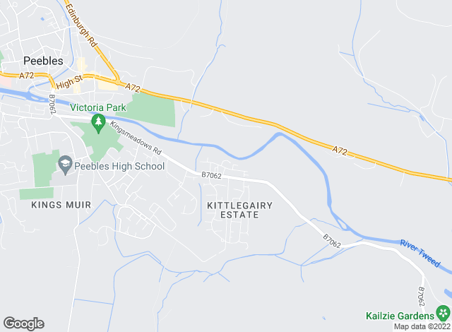 Map for JBM Estate Agents Limited, Peebles