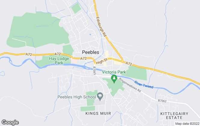 Map for Blackwood & Smith LLP, Peebles