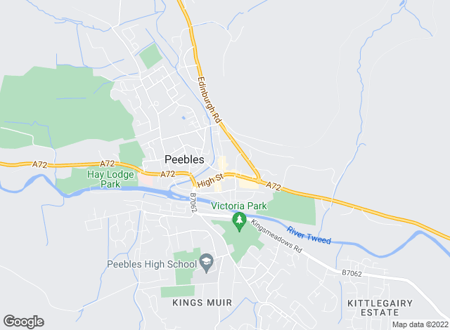 Map for CKD Galbraith, Peebles