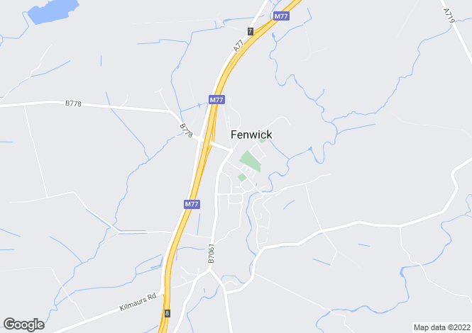 Map for Kirkton Road,