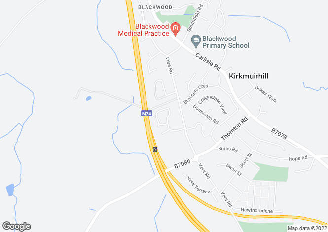 Map for Rogerhill Gait,