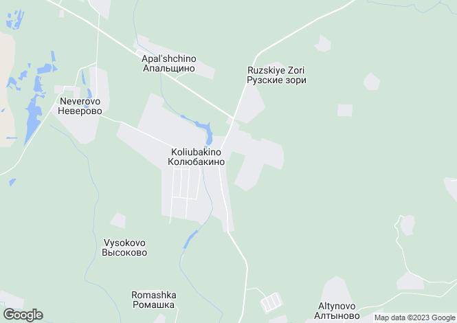 Map for Moskovskaya Oblast`, Kolyubakino