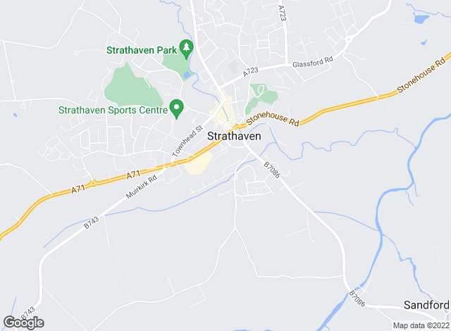 Map for The Property Store , Strathaven