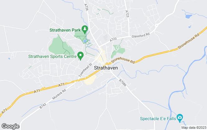 Map for Hemmings Hanlon Clark, Strathaven