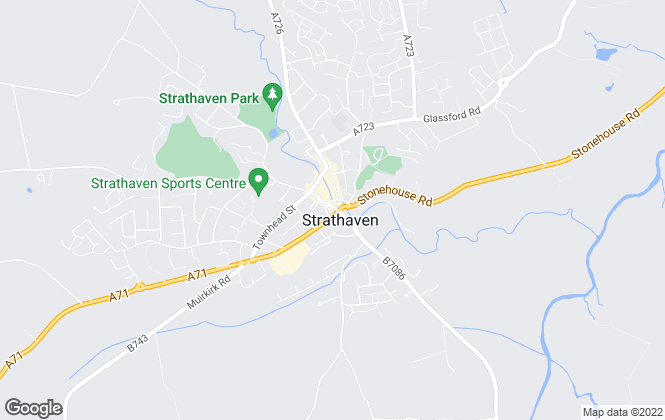 Map for Hanlon Clark, Strathaven