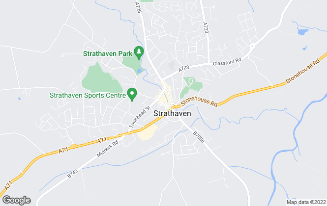 Map for Gebbie & Wilson, Strathaven