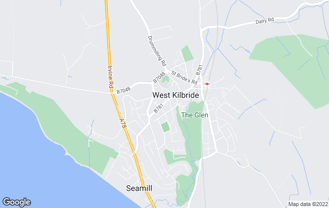 Map for AYRSHIRE LETTING & SALES, West Kilbride