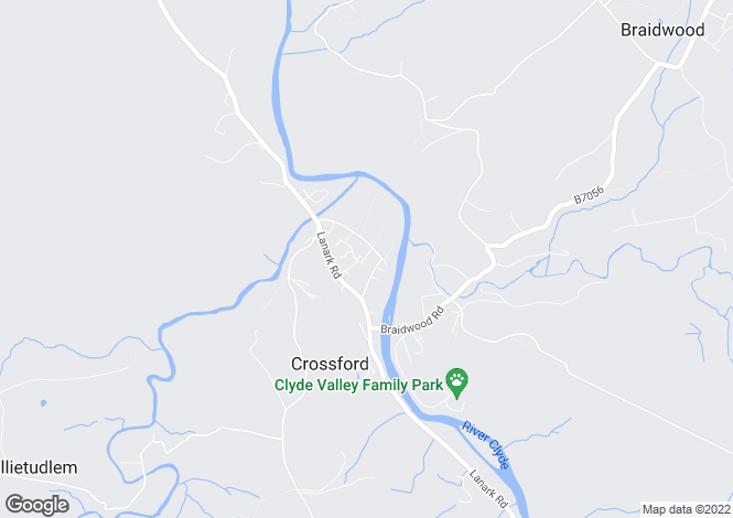 Map for Clydegrove House, Holm Road, Crossford, Lanarkshire ML8 5RG