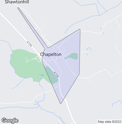 Map of property in Chapelton