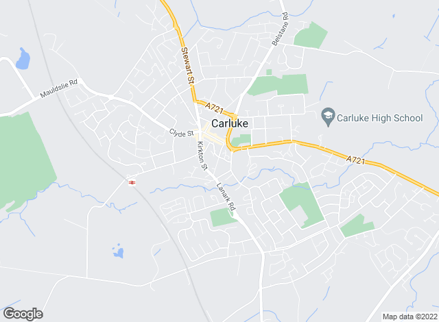 Map for Remax Clydesdale & Tweeddale, Carluke