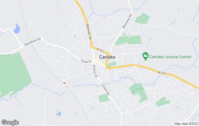 Map for Remax Clydesdale & Tweeddale, Carluke