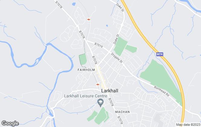 Map for Let Link Ltd, Larkhall