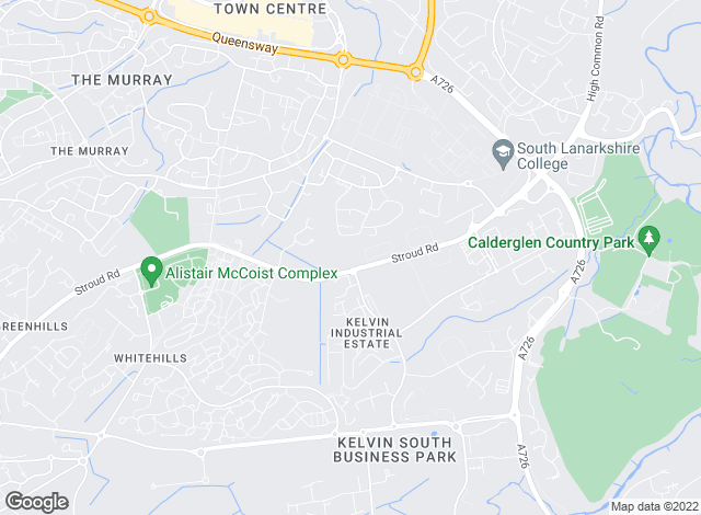 Map for Angel Lets, East Kilbride, Glasgow