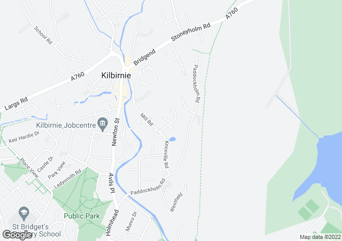 Map for Ladeside Gardens,