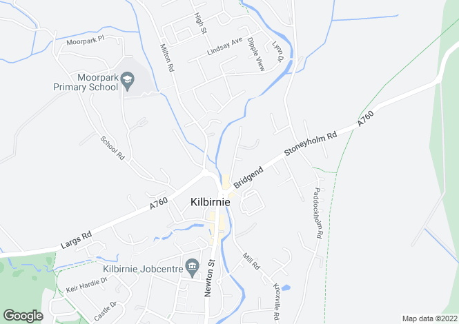 Map for Muirend Street,
