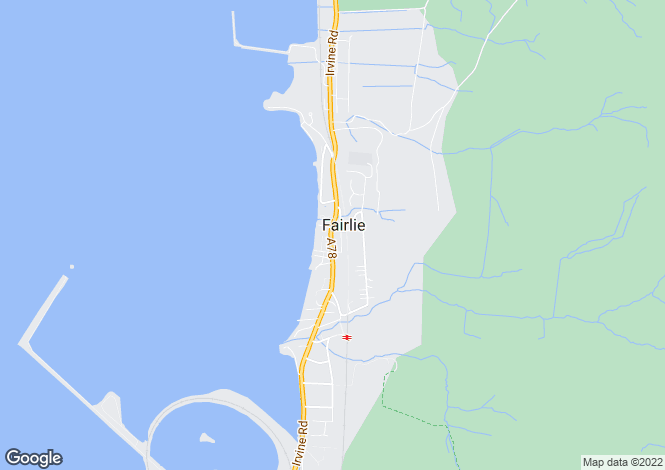 Map for Main Road, Fairlie, Largs, North Ayrshire