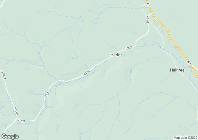 Map for Borthwick Hall,