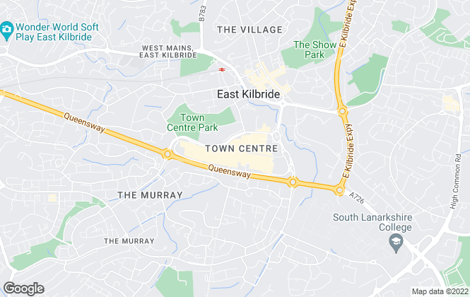 Map for Your Move , East Kilbride