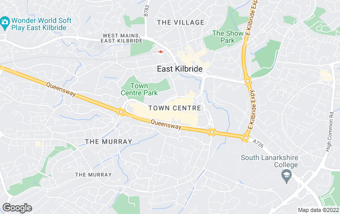 Map for YOUR MOVE, Premier East Kilbride
