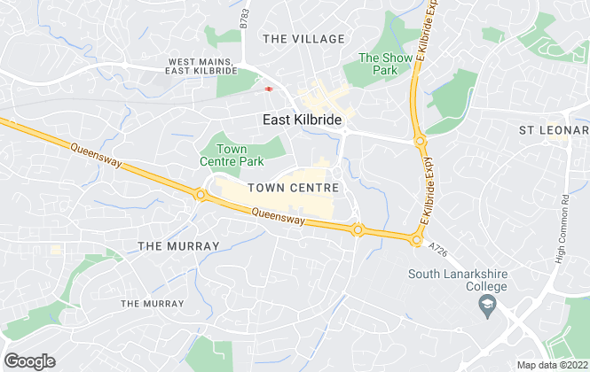 Map for Austin Lafferty , East Kilbride