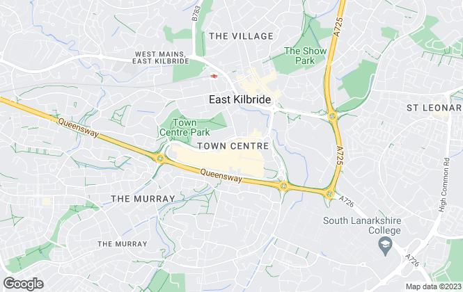 Map for Austin Lafferty , East Kilbride
