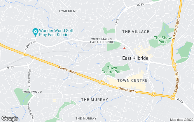 Map for Crawford Property Group, East Kilbride