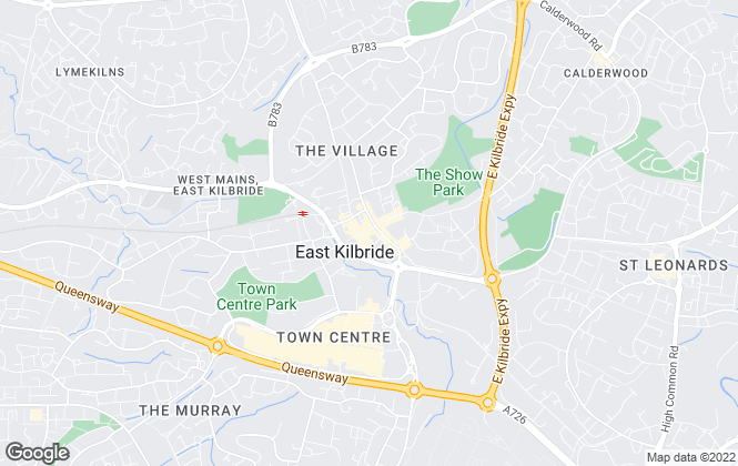 Map for The Property Store , East Kilbride