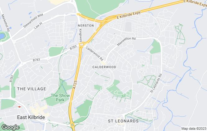 Map for Blackwells, East Kilbride