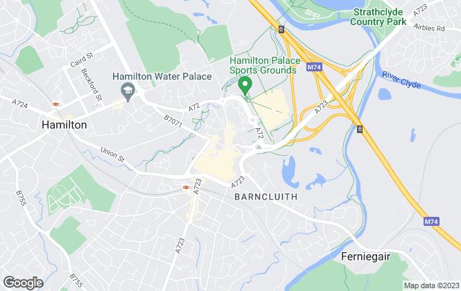 Map for Rent Locally, Hamilton