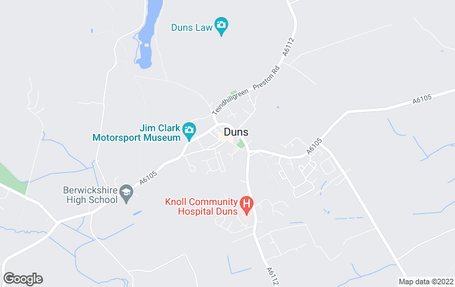 Map for Melrose & Porteous Solicitors & Estate Agents, Duns