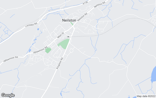 Map for JLC Property Lettings, Neilston