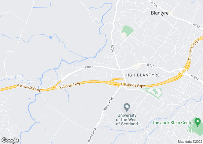 Map for Blantyre,