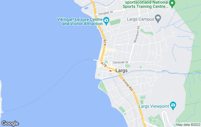 Map for Robert F Duff & Co, Largs