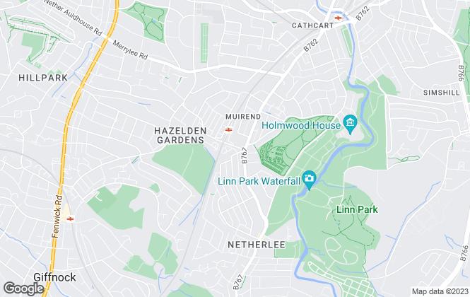 Map for Shanta Letting , Glasgow