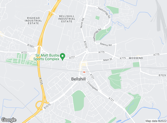 Map for YOUR MOVE McLaughlin, Premier Bellshill