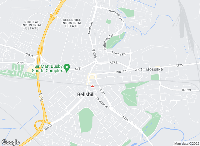 Map for Scottish Property Centre, Bellshill