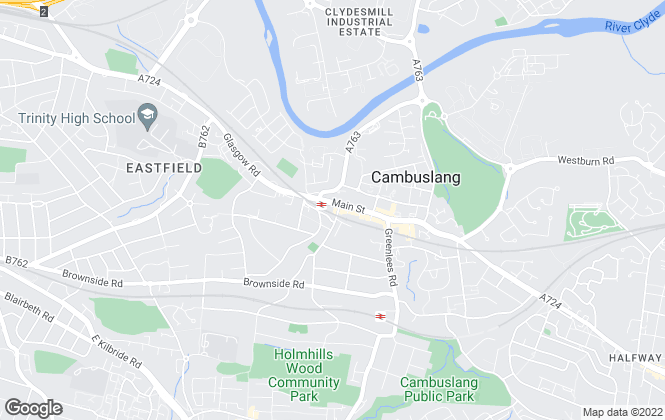 Map for Century 21, Cambuslang