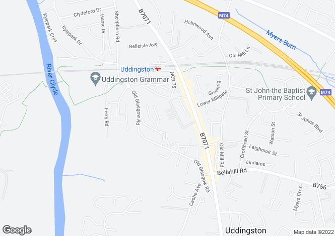 Map for Gardenside Avenue,