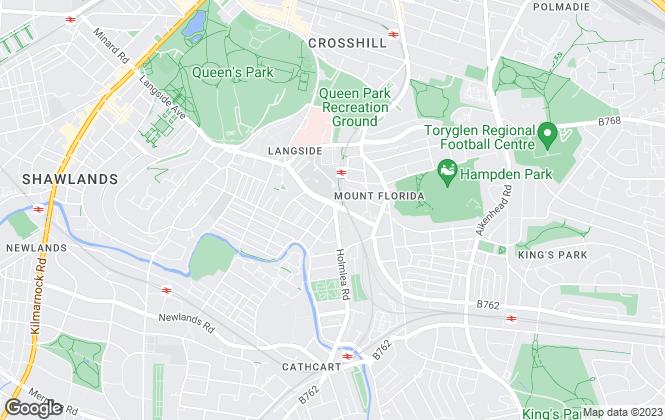 Map for MBM Homelets, Glasgow