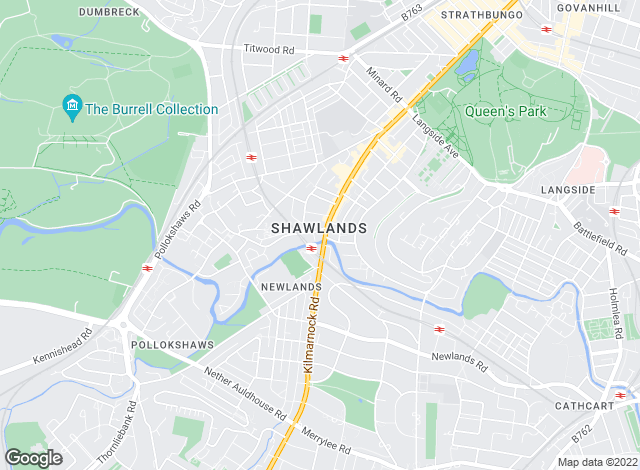 Map for Ross Sales & Lettings, Shawlands - Lettings