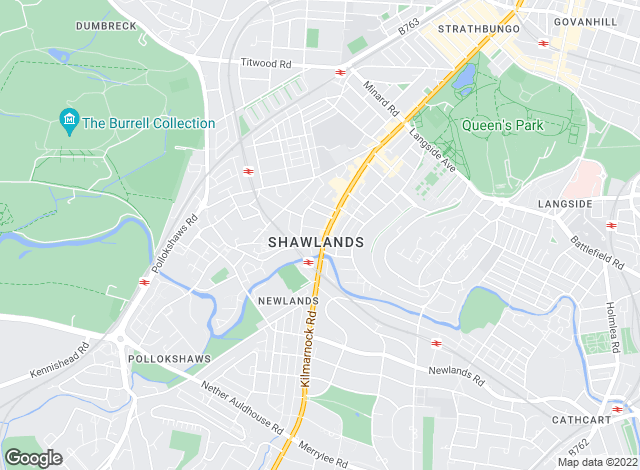 Map for Clyde Property, Shawlands