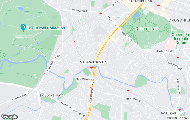 Map for Pacitti Jones, Shawlands