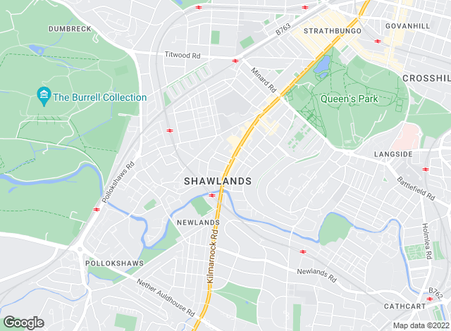 Map for Countrywide, Shawlands
