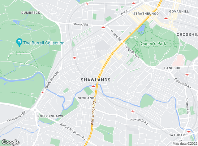 Map for Countrywide Residential Lettings, Shawlands